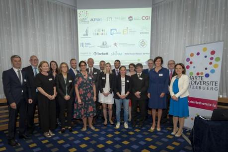 Ce 17 mai, 17 entreprises ont accepté le défi et se sont engagées publiquement lors d'une session officielle organisée par IMS, via la Charte de la Diversité Lëtzebuerg. (Photo: IMS Luxembourg)