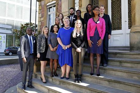Les premiers étudiants de la HR Academy. (Photo: Olivier Minaire)