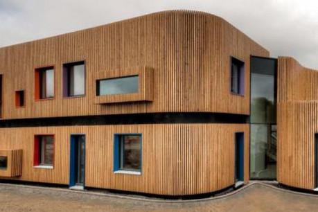 Ce bâtiment de classe énergétique A a coûté 3,5 millions d'euros  (Photo: Pierre-Michel Moritz- Agence ACE Medias)