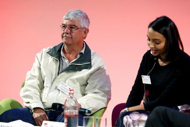 Alvaro Aguilar Ayon a représenté la Cooperativa de Ahorro y Préstamo Tosepantomin pour recevoir ce prix. (Photo: Olivier Minaire)