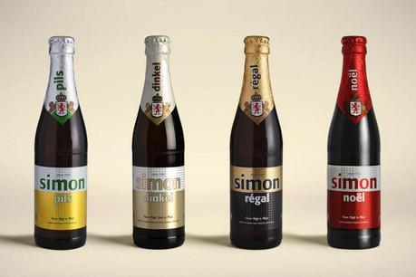 Les nouveaux design des bières de Simon Pils. (Photo: agence Vous)