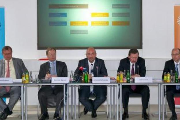 Conférence de presse d'Enovos. (Photo: Enovos)