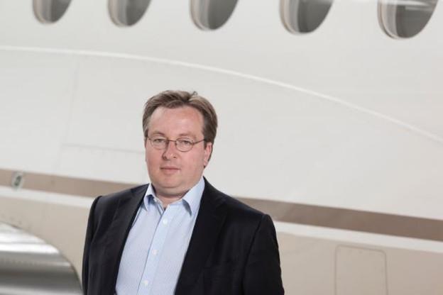 Patrick Hansen, CEO du groupe Luxaviation Group. (Photo: luxaviation)