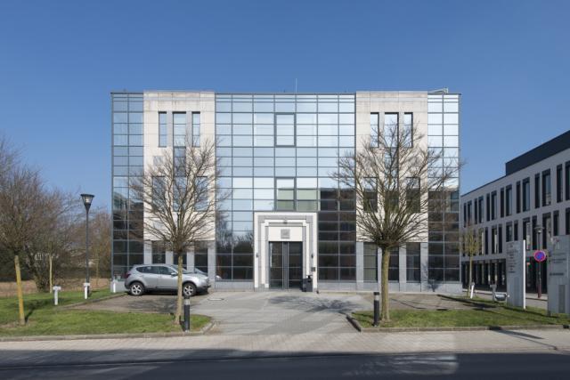 L'immeuble de bureaux Kiem (Photo: Leasinvest Real Estate)
