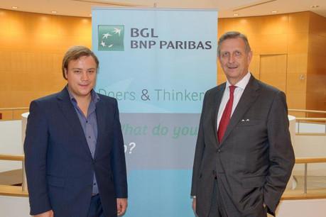Danny Mekić et Carlo Thill (Photo: BGL BNP Paribas)