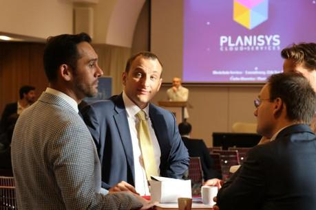 Nasir Zubairi, CEO of the Lhoft and Michele Gallo, conseiller au ministère de l'Économie du Luxembourg. (Photo: Lhoft)