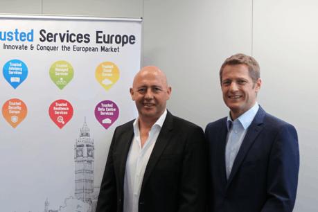 Yves Reding (CEO d'EBRC) et Claude Demuth (CEO de Lu-Cix). (Photo: Lu-CIX)