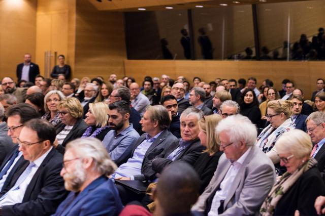 Plus de 200 personnes ont participé à la conférence publique du 9 novembre 2017 sur le thème «Associations sans but lucratif (ASBL) et sociétés d'impact sociétal (SIS)». (Photo: ULESS)