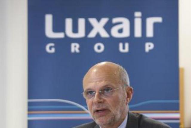 Adrien Ney, CEO de LuxairGroup (Photo : Etienne Delorme/archives)