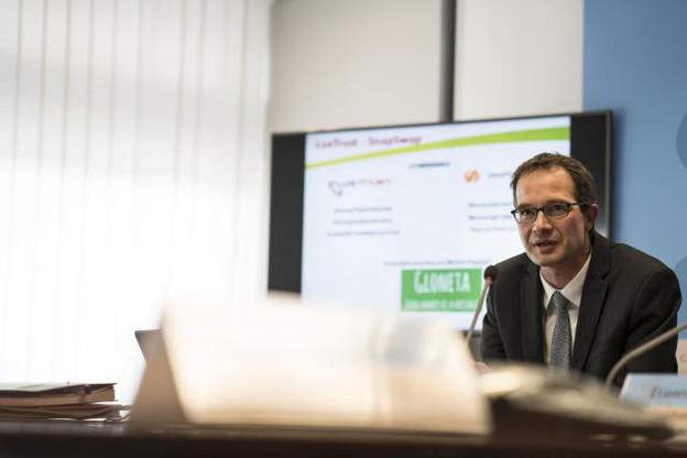 Pascal Rogiest, CEO de LuxTrust. (Photo: Sven Becker)