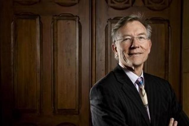 Rolf Tarrach, recteur de l'Université de Luxembourg, avec laquelle Marks & Clerks Luxembourg annonce une collaboration. (Photo: Julien Becker/archives)