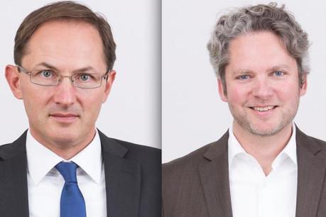 M. Marlière à gauche, M. Gerstlauer à droite.  (Photo: Marlière & Gerstlauer)