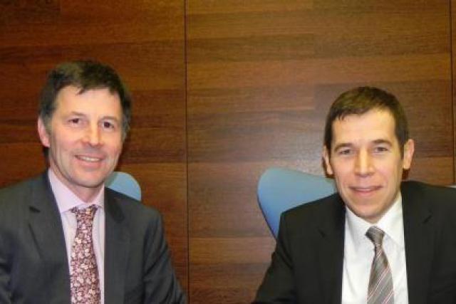 Marc Lamesch (BDO) et Pierre Van Wambeke (SeeZam) (Photo : BDO et SeeZam)