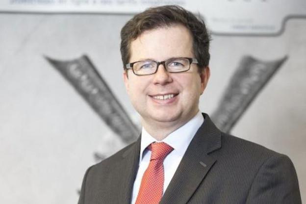 Thibault de Barsy, CEO de Keytrade Bank Luxembourg (Photo: Luc Deflorenne)