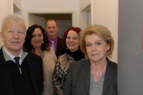 De g. à d.: Daniel Augereau, Cornélia Antony, Yann Le Jaudet, Nicole Roder et Liliane Adam (Photo: Synergie)