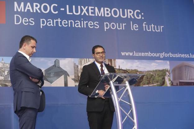 Christophe Bianco, fondateur et managing partner d'Excellium Services et administrateur délégué de Suricates Solutions, et Said Rkaibi, fondateur du groupe Medtech. (Photo: Luc Deflorenne)