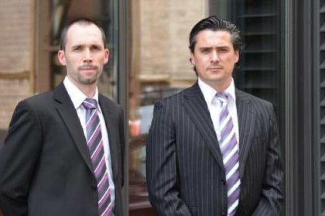 A gauche, Maxime Scodellaro (C.E.O IRIS Consulting), et a droite Francisco Moreira (C.T.O in-edit) ( Photo : In-Edit)