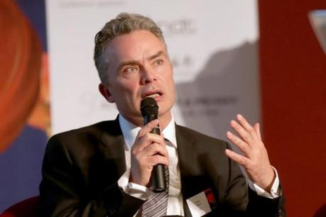 Michael Ferguson, EMEIA regulated funds leader et wealth & asset management leader chez EY Luxembourg (Photo: Luc Deflorenne)