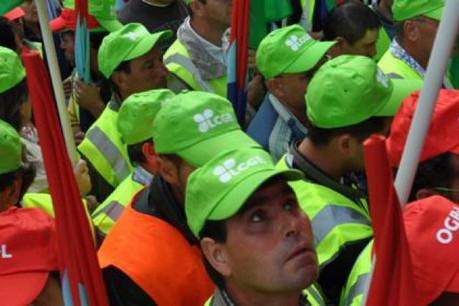 Les salariés ont manifesté devant le ministère. En vain. L'issue paraît inéluctable. (Photo: LCGB)