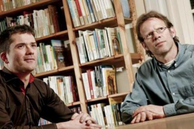 Jean-Sébastien Zippert et Ekkehart Schmidt-Fink (Etika) (Photo: Julien Becker/archives)