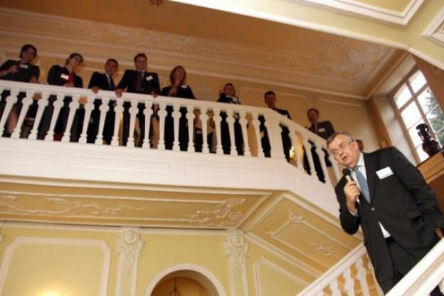 Victor Rod et des assureurs qui montent. ( Photo : Luc Deflorenne / archives )