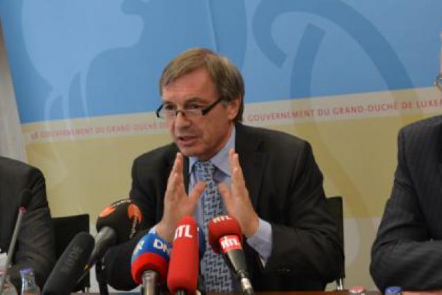 Paul Weis, administrateur délégué de Kiowatt, Jeannot Krecké et Marco Schank (Photo: MECE)