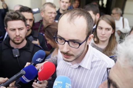 Antoine Deltour, ancien employé de PwC Luxembourg, a été condamné à 18 mois de prison avec sursis et une amende de 1.500 euros.  (Photo: Sven Becker)