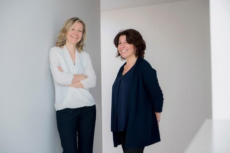 Stéphanie Dadoun et Séverine Barbette (Photo: Qualia)