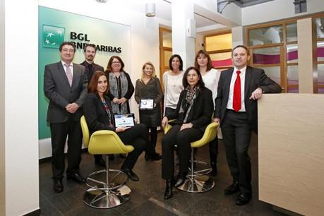 L'agence Grevenmacher de BGL BNP Paribas ouvre ses portes après réaménagement. (Photo: BGL BNP Paribas)