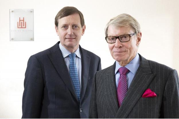 Charles-Antoine de Theux & Ole Roed, partners Harvey Weston. (Photo: Harvey Weston)