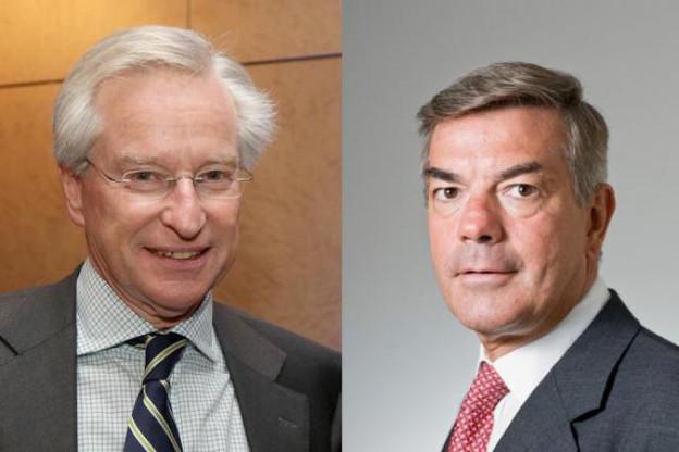 Paul Mousel et Guy Harles sont désormais co-présidents du cabinet d'avocats Arendt & Medernach. (Photos: archives paperJam)
