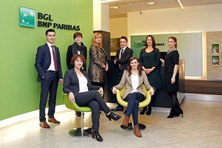 L'équipe de l'agence (Photo: BGL BNP Paribas)