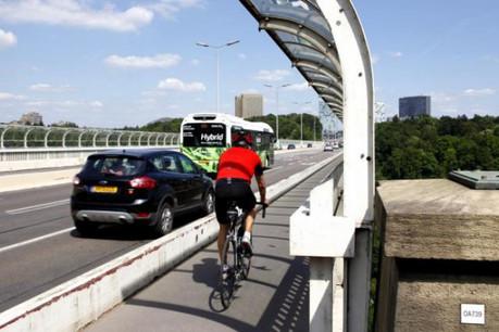Mobilité intelligente. Économie performante. Voilà l'appel à l'action de la Semaine européenne de la mobilité en 2016. (Photo: Olivier Minaire / archives)