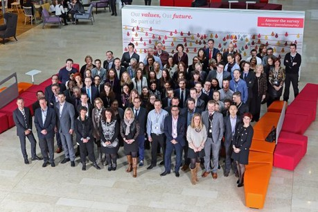 PwC Luxembourg honore l'™engagement de ses collaborateurs de longue date. (Photo: Olivier Minaire)