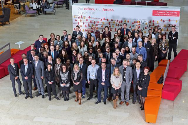 PwC Luxembourg honore l'™engagement de ses collaborateurs de longue date. (Photo: Olivier Minaire)