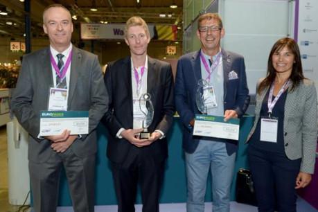 Sogelis a remporté le Prix B2fair Business Award 2014. (Photo: Sogelis)