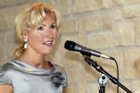 Sandra Müller, présidente de LuxReal.  (Photo : Olivier Minaire)