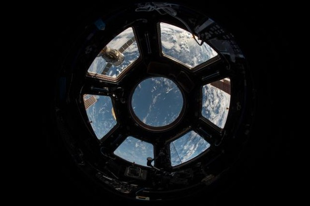 L'équipement Kleos Space permet de fabriquer des structures dans l'espace qui seraient difficiles à produire sur Terre en raison de limitations lors du lancement. (Photo: Nasa / Archives)