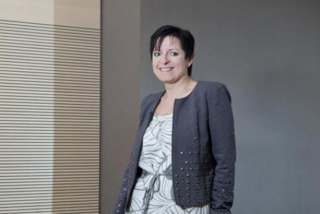 Edith Magyarics, CEO de Victor Buck Services (Photo: archives paperJam)