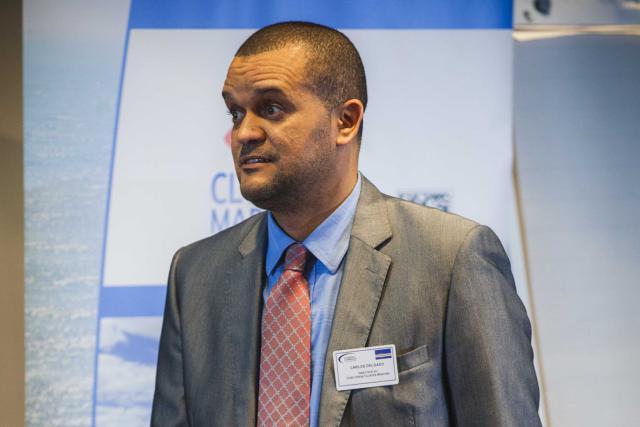 Carlos Delgado, directeur Cap-Vert Cluster maritime. (Photo: Cluster maritime luxembourgeois)