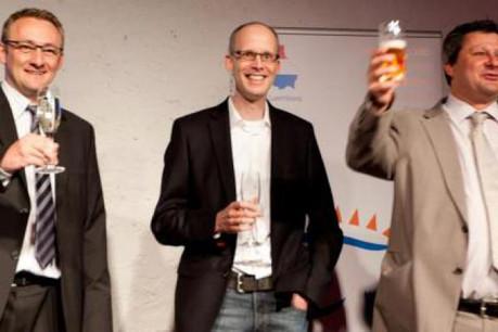Les fondateurs de Visual Online: Claude Schuler, Christian Schmit et Christian Gatti. (Photo: Visual Online)