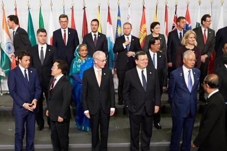 Xavier Bettel au 10e sommet de l'Asia-Europe Meeting (Photo: Conseil de l'Union européenne / Mario Salerno)