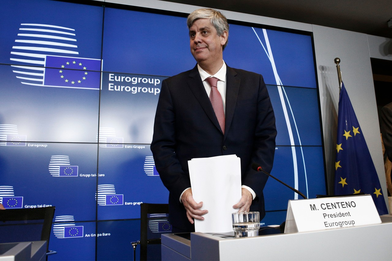 L'Eurogroup, ici son présidentMário Centeno, est parvenu à un accord sur les grandes lignes d'un budget de la zone euro. (Photo: Shutterstock)
