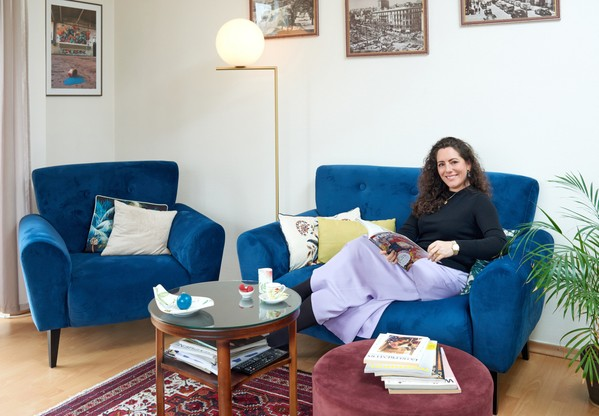 C'est dans un appartement au centre-ville de Luxembourg que Jessika Rauch a choisi d'habiter à son arrivée de Hambourg. (Photo: Andrés Lejona/Maison Moderne)