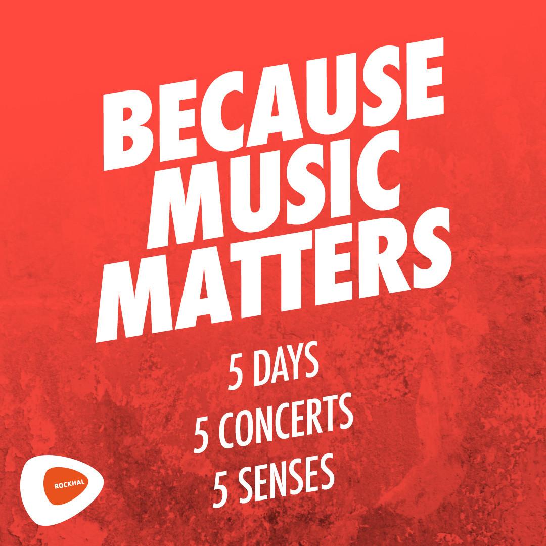 Because Music Matters, une série de cinq concerts en hommage à la musique live, du 10 au 14 février à la Rockhal. (Photo: Rockhal)
