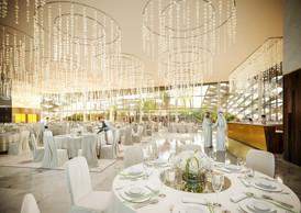 Vue d'une des salles de réception ((Illustration: Metaform Architects))