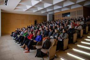 Conférence d'Albert Folch et Rafa Martínez de Folch Studio au Mudam ((Photo: Jan Hanrion / Design Friends))