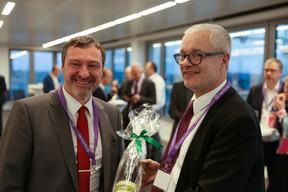 Jean-François Terminaux (Finance & Technology Luxembourg) et Romain Bontemps (Grant Thornton) ((Photo: Romain Gamba))