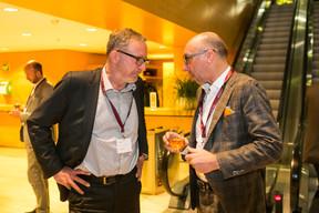 Olivier Vandenhove (AG Real Estate) et Carlo Irthum (Invest Finance) ((Photo: Olivier Dessy))