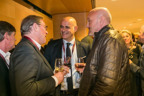 Claude Zimmer (Zimmer & Partners), Raphaël Xiol (ING) et Pit Pirotte ((Photo: Olivier Dessy))